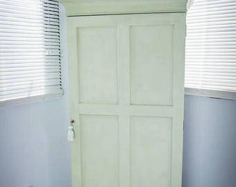 Antique Vintage cupboard / small wardrobe / linen cabinet