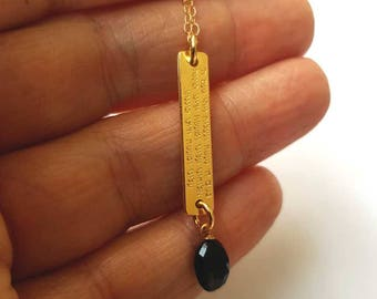 A delicate necklace for protection from Evil eye,