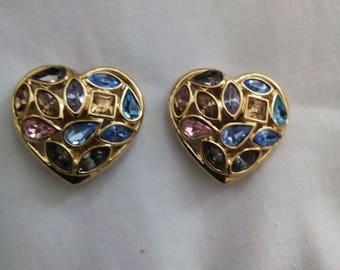 Stunning earrings Yves Saint Laurent