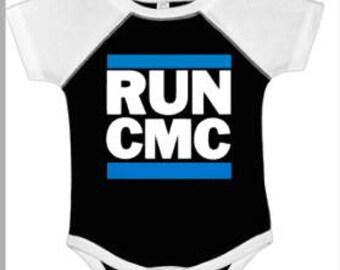 Carolina Panthers Onesie ~ Christian McCaffrey is gonna be a Panther ~ RUN CMC ~ Football Onesie