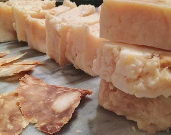Amber Scented Hand Milled Soap