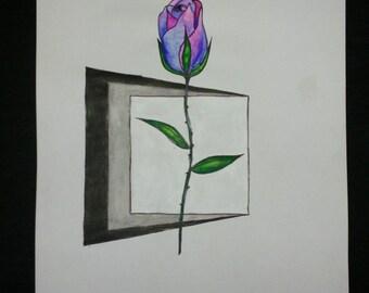 "Painting ""Rose Window"""