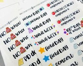 Back to School Collection | planner/ scrapbook stickers