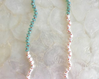 Beach Scene necklace