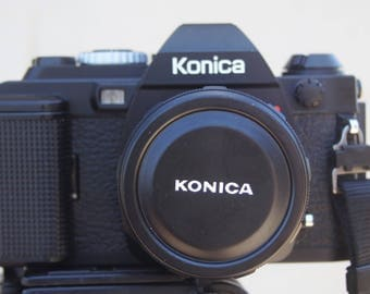 Konica FS-1 With 52mm 1.8 lens.