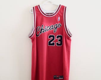 Chicago Bulls Michael Jordan Vintage Nike Authentic Basketball Jersey