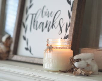Fall Festival, BEST SELLER, Hand Poured, All Natural Soy, Mason Jar Candle, Fall Candle, Autumn Candle, Gift