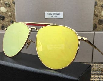Thom Browne TB 015 Sunglasses New 2017 (2 colors)