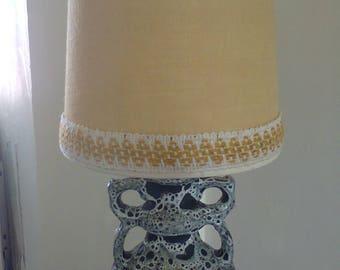 Vintage 60's West German table lamp