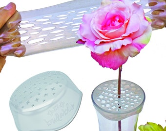 Budable 3 pack Flower Arranger, floral supplies, flower frog, flower foam and holder, flower arrangment tool