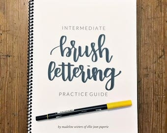 Intermediate Brush Lettering Guide