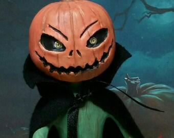Jack O'lantern Ooak
