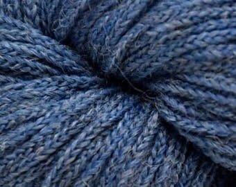 Mirasol SISA +Free Patterns 9.25+.99ea to Ship Merino Wool Baby Alpaca Yarn - TWILIGHT 10 Lot 75242 - Blue Soft Chainette. MSRP 11.99