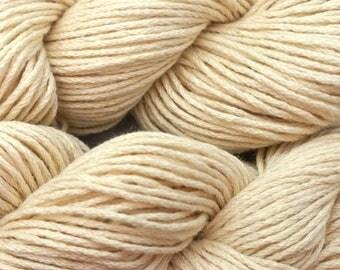 CEY Mountain Top Canyon 9.50 +1.50ea to Ship Natural Pima Cotton w 15% Alpaca - Milkweed 3716 - 155 Yds Soft, Silky, Drapey Heaven!