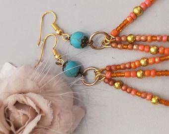 "Earrings ""Summer"""