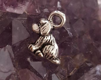 Tiny Dog Charm (Addition to Pendants) Thoughtfullkeepsakes Shop