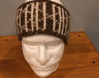 US Made Alpaca Headband, Flint Design