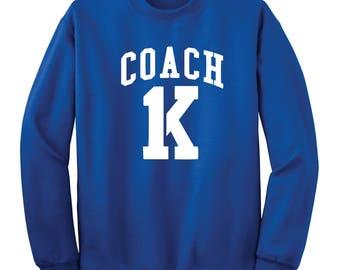Coach K Crew Sweatshirt
