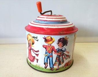 Vintage Lorenz bolz music box