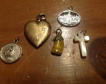 Vintage pendants assortment