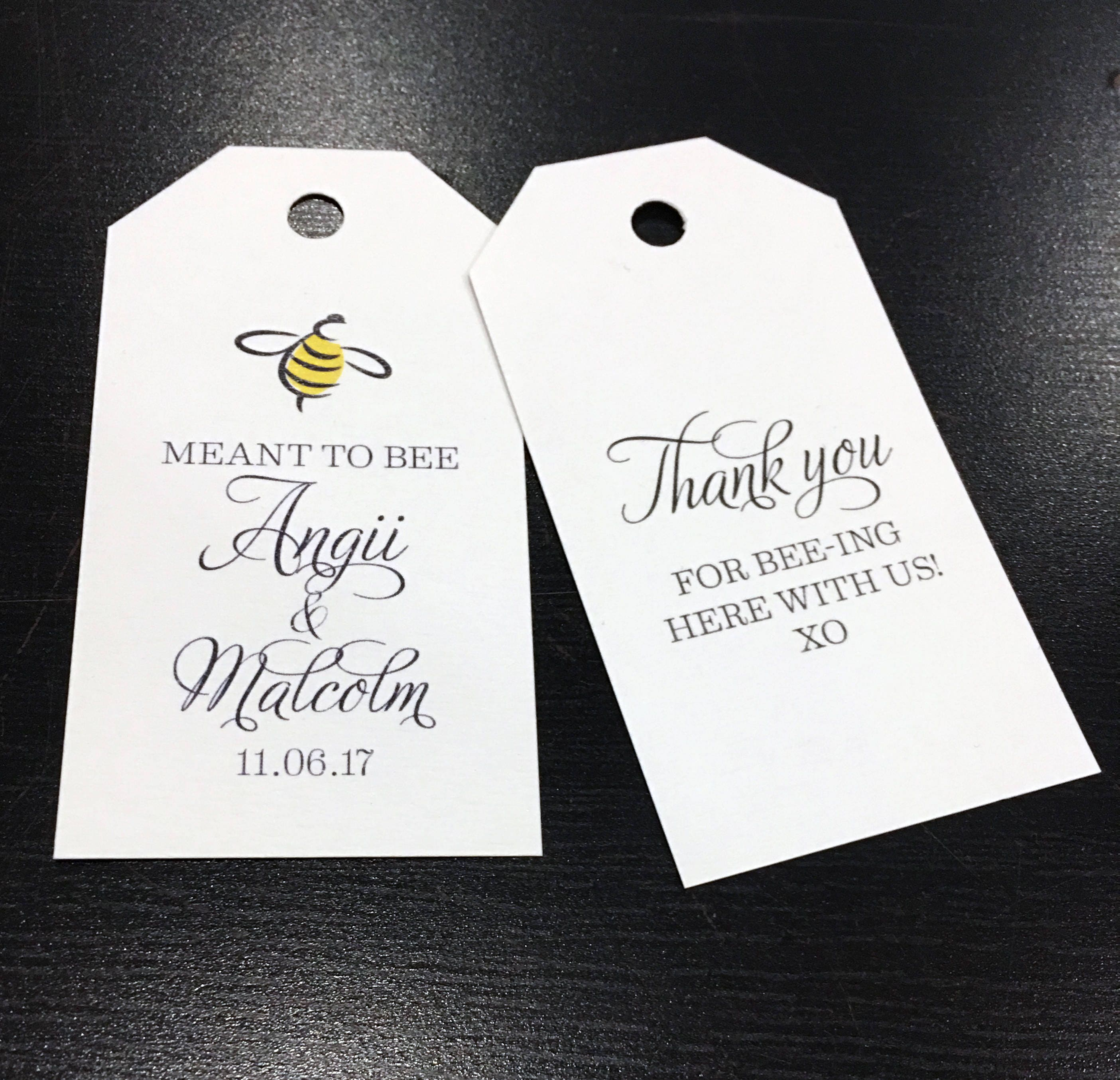 Meant to Bee Wedding Favors | Giftwedding.co