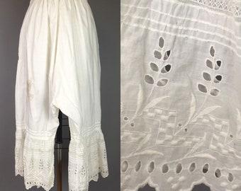 Victorian edwardian bloomer underwear