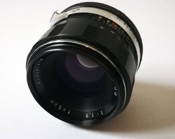 Vintage Miranda f 1,9 50 mm Lens for Miranda Mount Camera