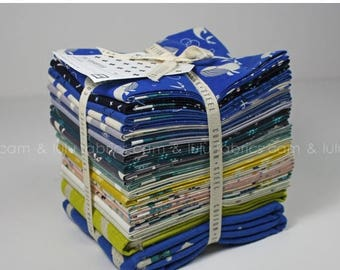 ON SALE KUJIRA & Star - Rashida Coleman-Hale for Cotton + Steel Fabrics - Mixed Cotton and Canvas Fat Quarter Bundle - 21 Prints