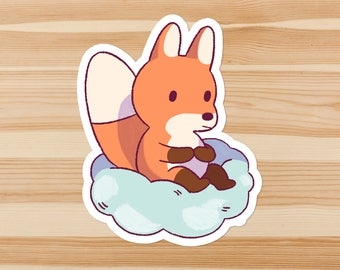 Cloud Fox Sticker Pack