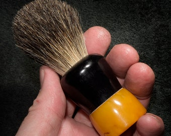 Rubberset 203 Shaving Brush - 20 mm Black Badger