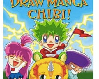 Draw Manga Chibi,Coloring Book,Clear Illustrations,Concise Drawing DIrections,Gift for Boys, Gift for Girls, Stocking Stuffers, Holiday Gift