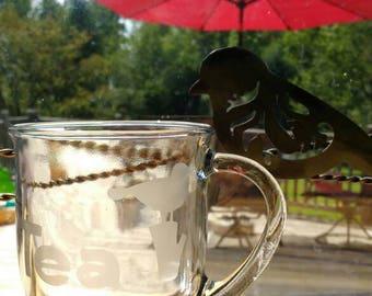 Tea Cup With Bird