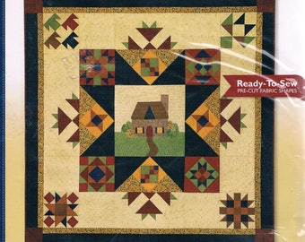 Countryside Cottage SETTING KIT Quilt Block of the Month limited edition ready to sew pre-cut fabric