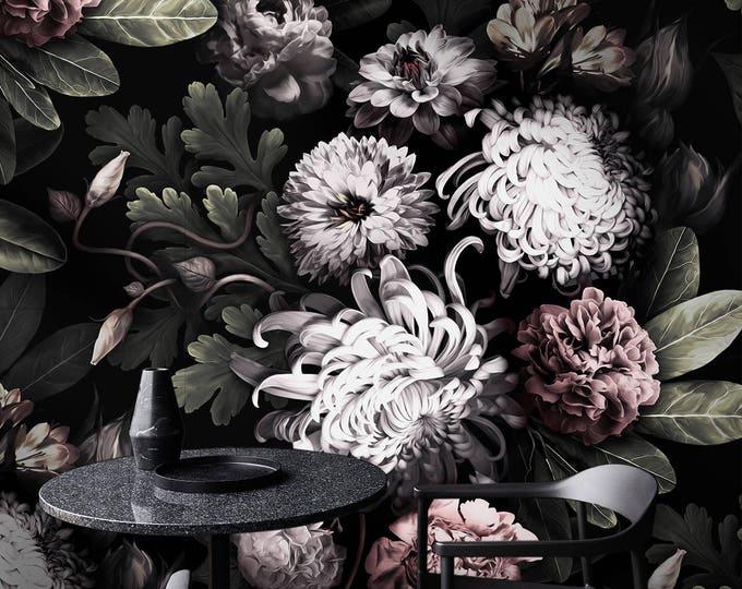 Dark Floral Wallpapers - Dark Flowers Wallpapers