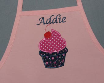 Child's Apron, Children's Personalized Apron, Two Sizes