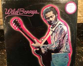 Chuck Berry - Wild Berrys - Sealed New NOS - Rare - Free Shipping!