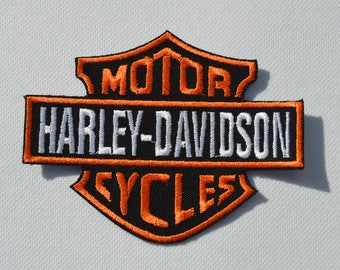 harley davidson 4 CMS for sew on patches Hat patch or other