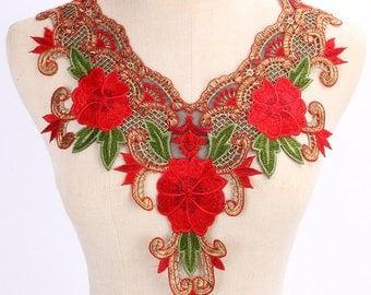 guipure floral lace 3 G