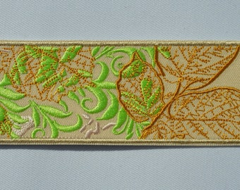 beige leaves bookmark 2