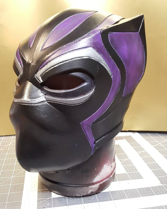 black panther foam helmet templates. Black Bedroom Furniture Sets. Home Design Ideas