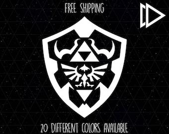 Zelda Hylian Shield Logo Decal