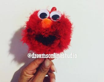 how to make cookie monster headband