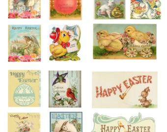 Planner Stickers - Vintage Easter