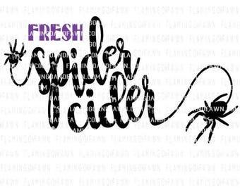 halloween decor svg, spider decor svg, spider svg, punch svg, halloween party svg, halloween svg files, party svg files, fall svg files