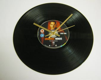 Criminal Minds Special Unique DVD Record Wall Clock Gift