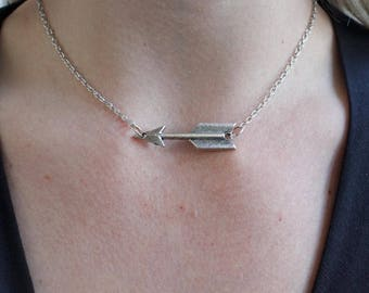 Handcrafted jewelry, arrow choker
