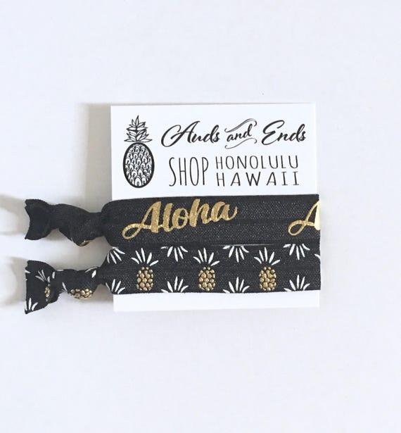 Hair tie bracelets-beach bracelets