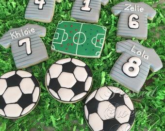 2 dozen Soccer cookies