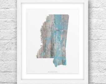 Mississippi Map, Mississippi Print, Mississippi Art,Mississippi State,Minimalist Art,Mississippi Printable,Instant Download,Mississippi 8x10