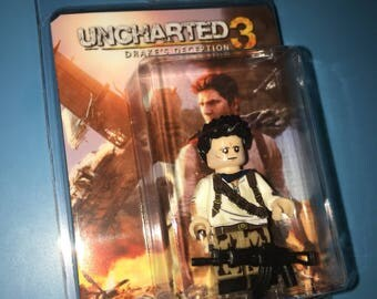 "UNCHARTED ""Drakes Fortune"" Custom Minifigure PS4"